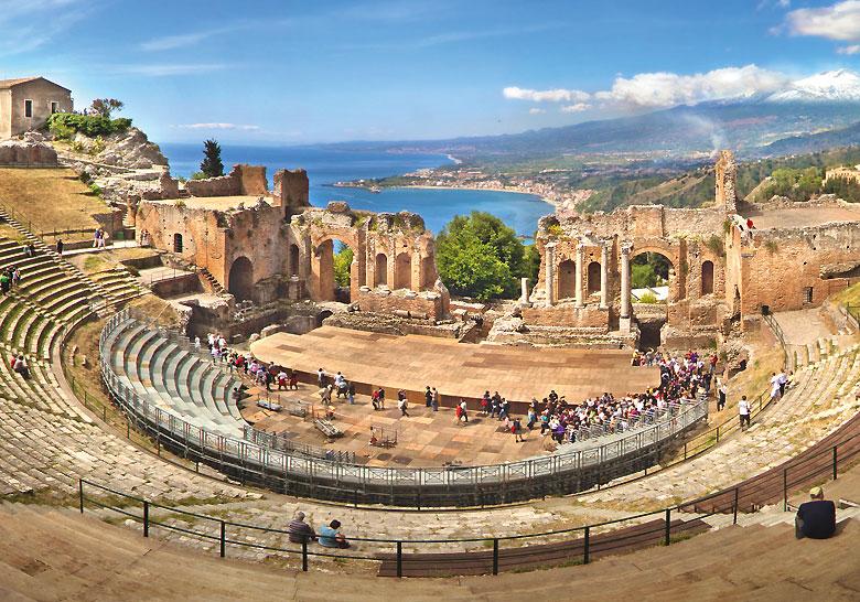 Anfiteatro Greco Romano - Taormina